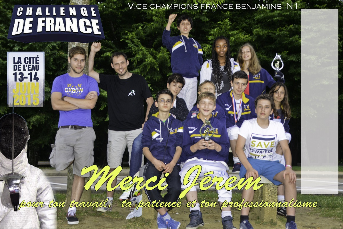 Challenge de France Benjamins à Thonon 2015