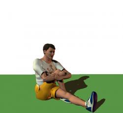 Etirements du bas du corps for Douleur interieur cuisse droite